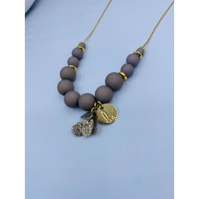 Collier MAT 4 Taupe